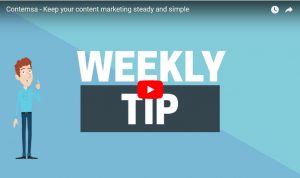 Contemsa - Keep your content marketing steady and simple
