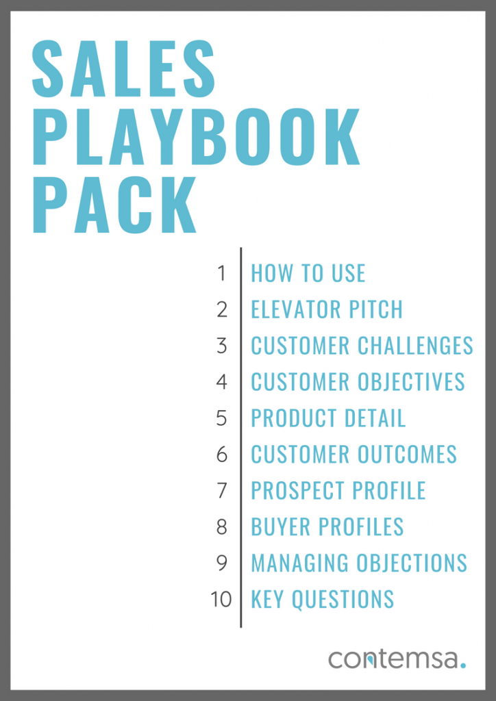 10 Sections to Include in your Sales Playbook - Guide