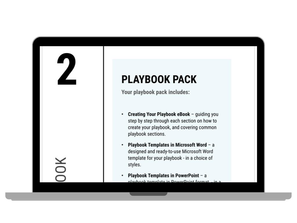 Sales Playbook Screen