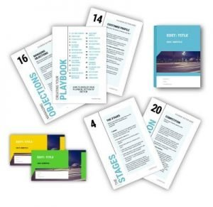 SALES PLAYBOOK TEMPLATE - FULL PACK