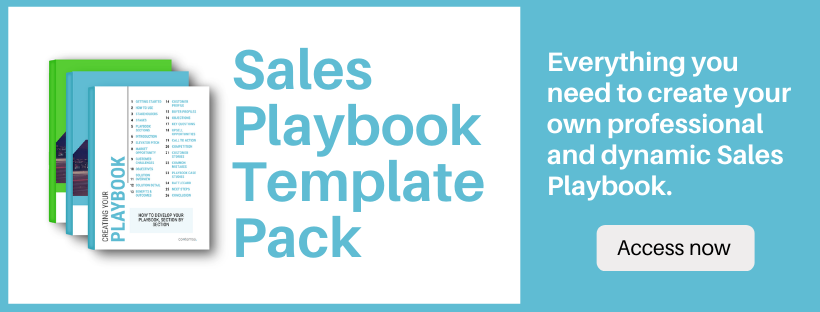 Sales Playbook Template Pack Banner