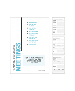 Meeting Agenda Template - Pack