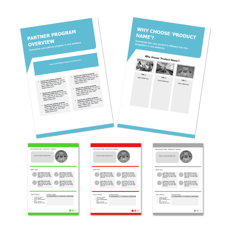 Reseller Program Template Examples
