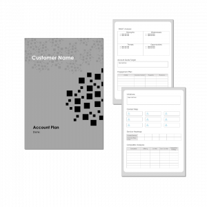 Account Plan Template - Inside and Cover