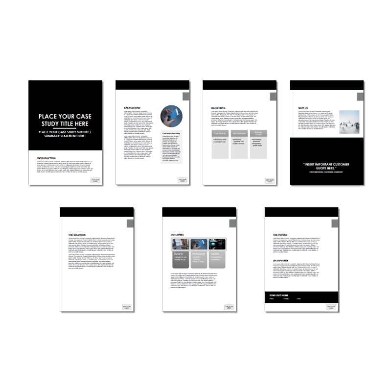 Case Study Template Long Block Black Version