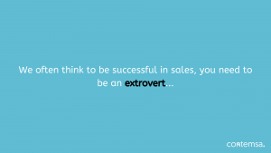 Contemsa - Introverts in B2B Sales