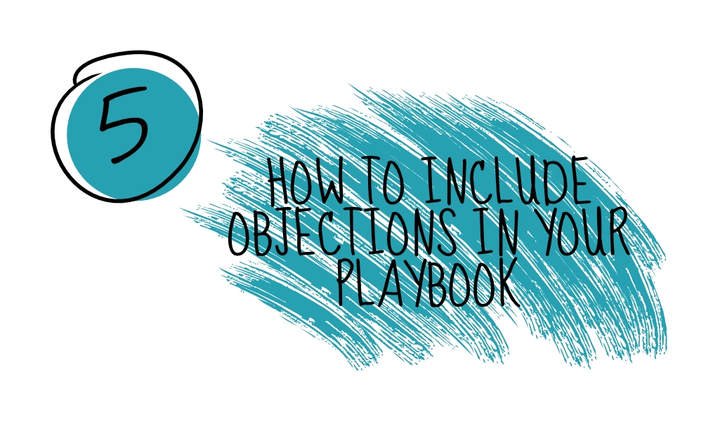 How to include sales objections in your sales playbook