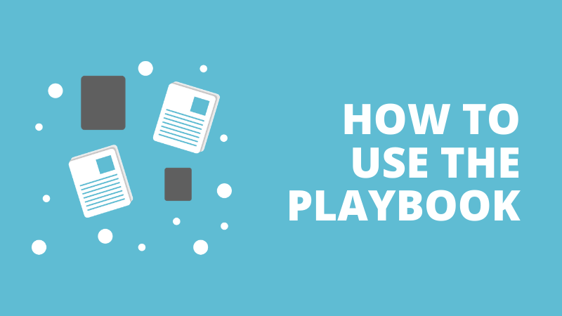 How to use the playbook