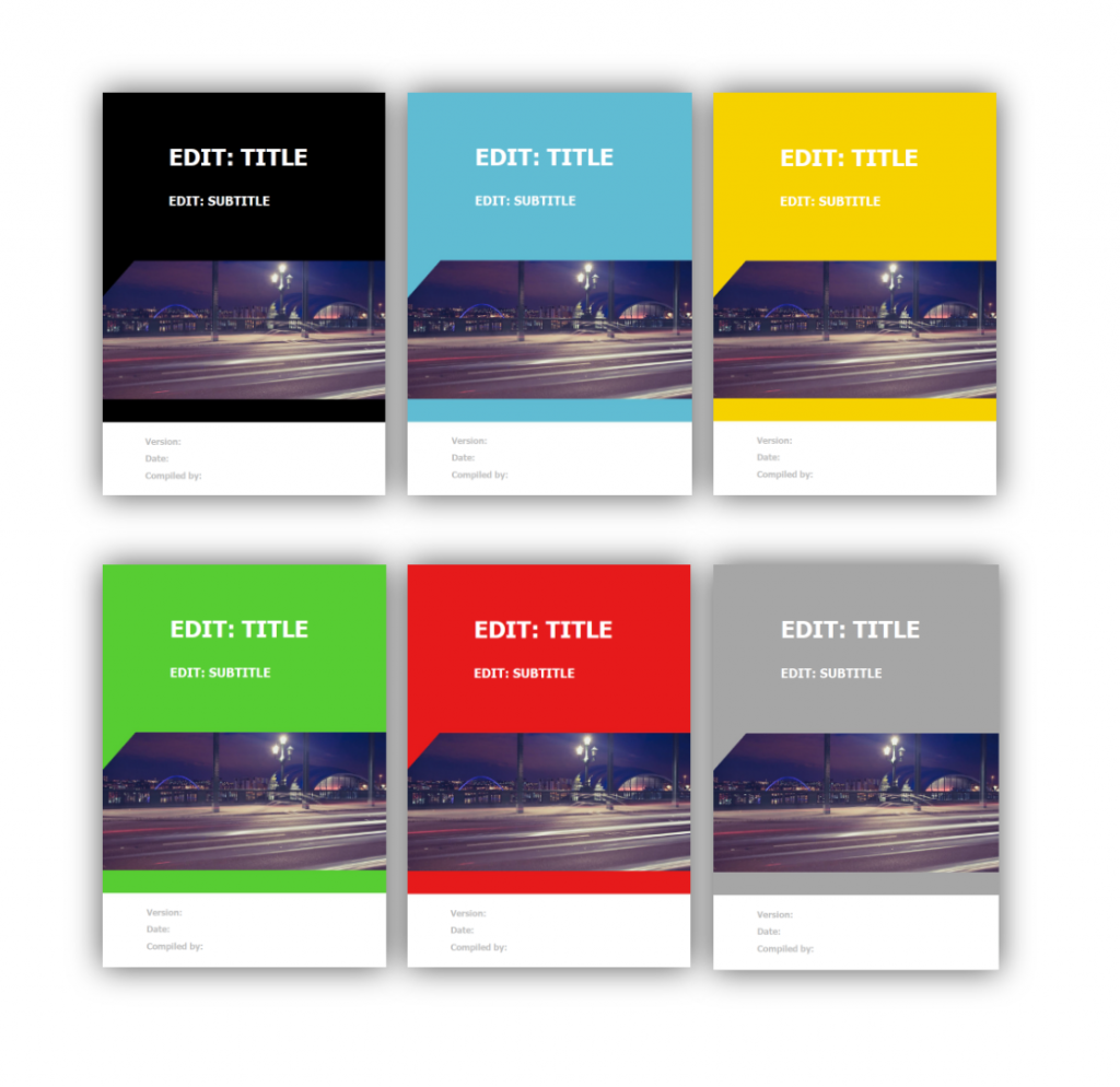Word Sales Playbook Template Cover 3