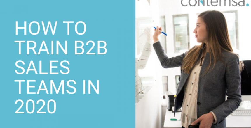 How to train B2B sales teams in 2020 - Sales Playbook Template