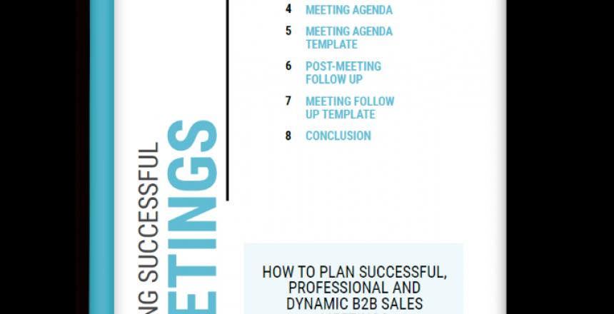 Meeting Planning Template Pack Ebook